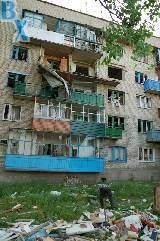 В одной из квартир жилого дома в городе Изюм произошел взрыв газа