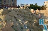 В центре Харькова строят песчаный город