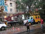 Ураган в центе Харькова