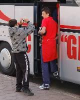 В Харьков прибыла национальная сборная Хорватии по футболу