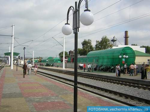 В Купянске открыт новый железнодорожный вокзал
