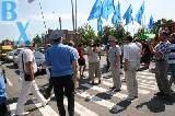 Киевская трасса перекрыта – пикетчики у поста ГАИ в Песочине требуют отставки Бакуменко