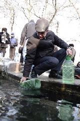 Православные Харькова празднуют Крещение