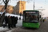 Следующий троллейбус уж точно идет по маршруту
