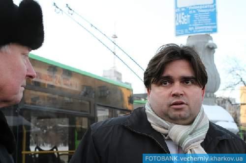 Александр Кривцов (слева)  и Маркиян Лубкивский