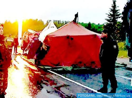 Авиакатастрофа в Карелии: первые фотофакты