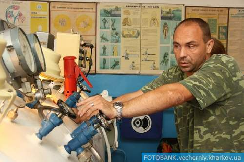 Харьковские водолазы раскрыли свои секреты