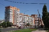 В Харькове строят стеклянный переход
