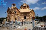 В Саржином яру полным ходом идет строительство церкви
