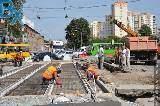 На перекрестке пр. Гагарина - ул. Кирова продолжается строительство переезда
