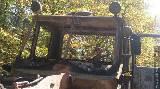 Пожар в парке им. Горького: горели два трактора