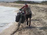...А также по Черноморскому побережью и пляжам, удивляя тамошних отдыхающих.