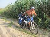 Частенько приходилось идти рядом с велосипедом... И это еще что?!
