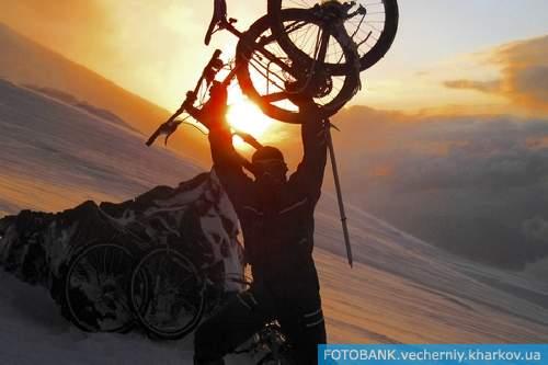 Восхождение на Эльбрус? Только на велосипеде! 2
