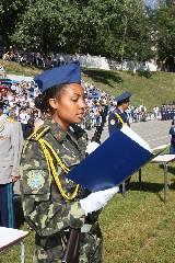 Харьковских первокурсников посвятили в «кожедубовцы»