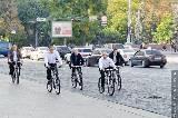Добкин и Кернес пересели на велосипеды