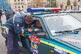 Автомобилисты против ГАИ: как это было центре Харькова