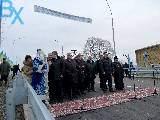 В Лозовой открыли обновленный мост