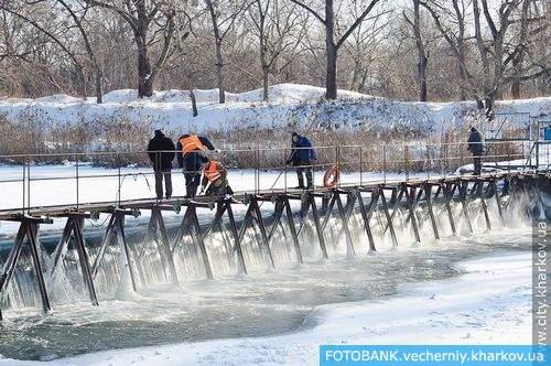 Лопанскую плотину ждет реконструкция