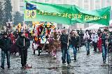 Как в Харькове на Масленицу зиму провожали