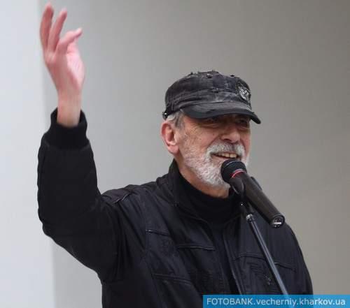 В Харькове выступил Вахтанг Кикабидзе