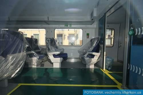 В Харьков приехал второй скоростной поезд Hyundai