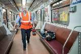 В харьковском метро ночью тушили пожар