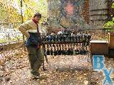 Сотрудники газеты Вечерний Харьков охотились друг на друга в парке Артема.