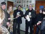 Команда газеты «Вечерний Харьков» заняла второе место в соревнованиях по стрельбе
