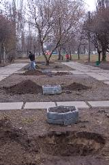 Субботник по благоустройству территории рекреационной зоны по ул.Клочковской