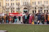 Митинг на площади Конституции