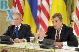 Встреча Виктора Ющенко и Джорджа Буша (часть 1)