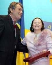 Ющенко сделал певицу героем