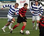 Футбол: Победа под занавес