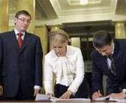 БЮТ и НУНС еще не обсуждали состав коалиционного Кабмина