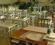 В восьми школах Харьковской области отменили занятия