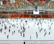 В Москве может рухнуть ледовый дворец