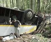 Авария туристического автобуса в Египте: 9 украинцев госпитализированы