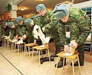 Российская армия решила отказаться от портянок