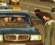 Пассажир решил проехаться без таксиста