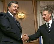 Янукович на два дня поехал к Путину