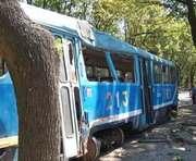 ЧП в Одессе: трамвай сошел с рельсов. Есть жертвы