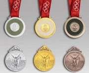 Пекин представил медали Олимпиады (ФОТО)