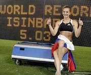 Исинбаева обновила мировой рекорд
