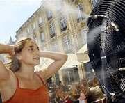Погода: в понедельник будет жарко