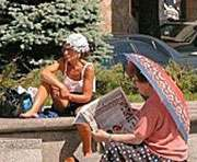 Конец июля в Украине будет жарким