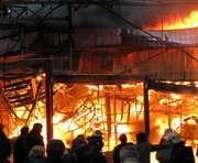 В Харькове горел завод