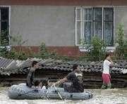 Возле Чопа уровень воды достигнет 10 метров