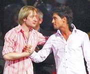 Плющенко и Билан посоревнуются на ледовом шоу