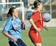 Женский футбол: Харьковчанки накидали «Южанке» полную сетку